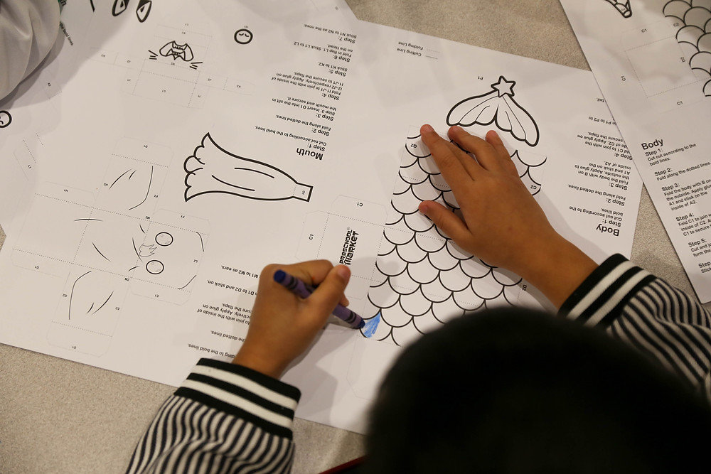 merlion craft for National Day