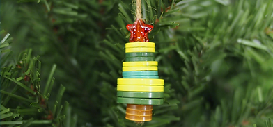 Button X-Mas Tree