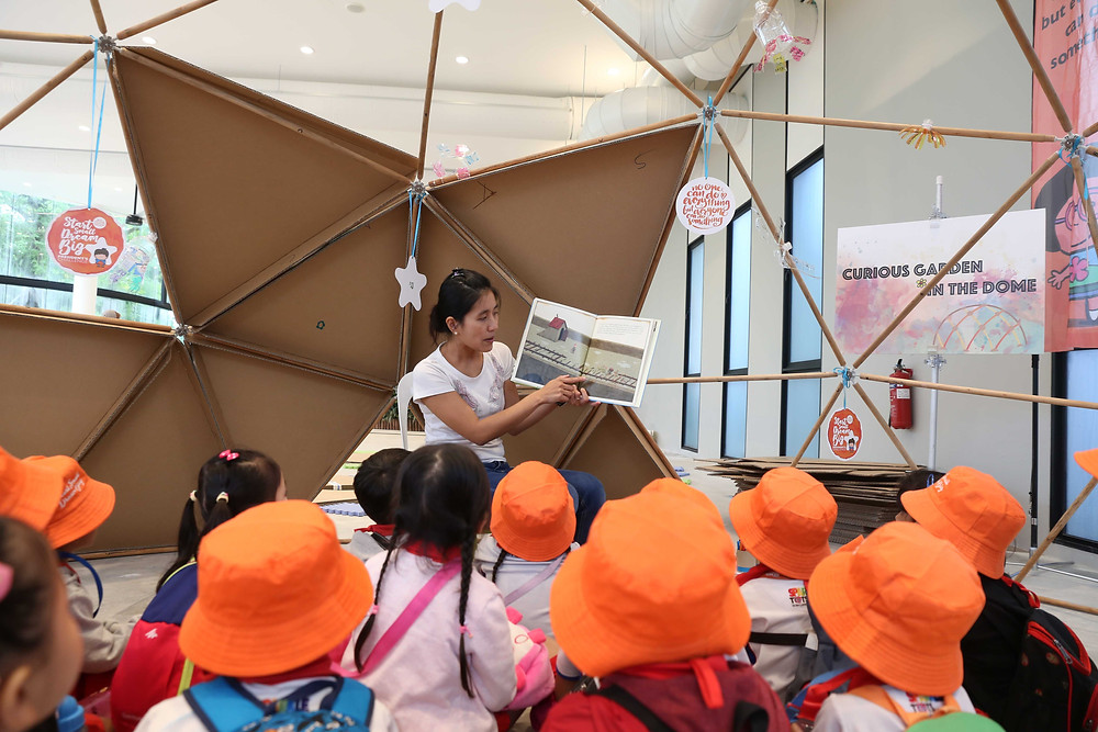 Eco Kampung Carnival _ Story Telling in Dome