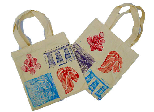 Icons of Singapore (Tote Bags)
