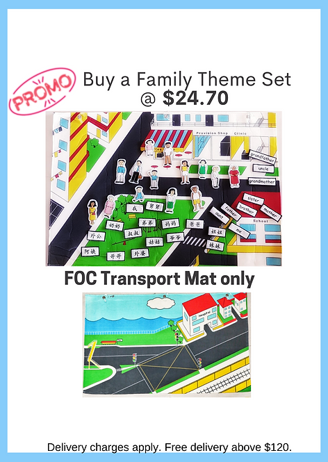 Family Theme Set FOC Community Mat