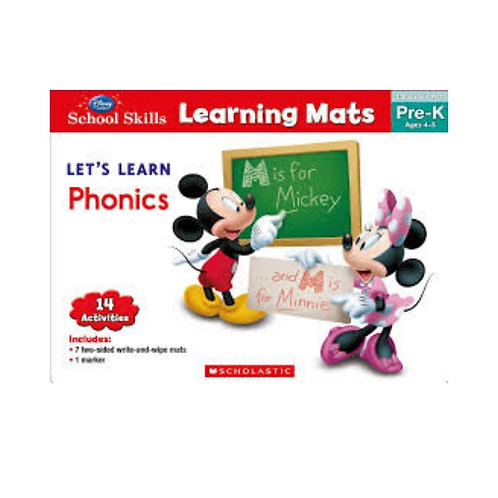 Learning Mats: Let's learn phonics (Pre-K)
