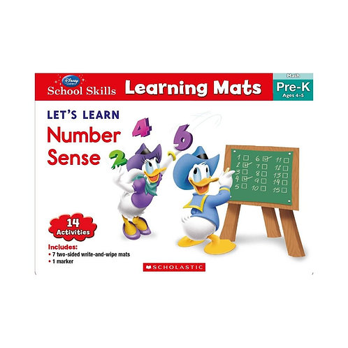Learning Mats: Let'S Learn Number Sense