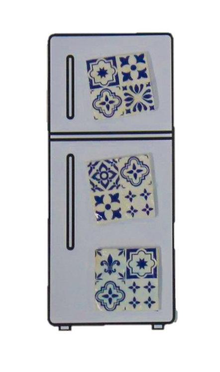 Peranakan Tiled Magnets (Medium)