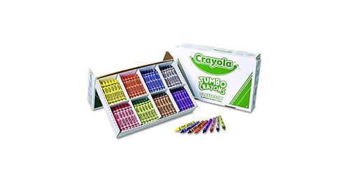 Crayola Jumbo Crayons Classpack