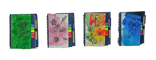 Singapore Flowers  Notebook