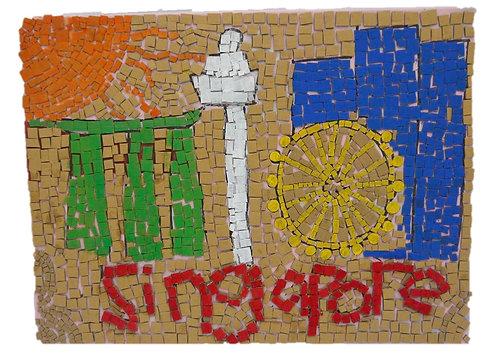 Mosaic Art (Singapore Landmarks)