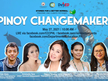 Pinoy changemakers in 46th episode of 'Stories for a Better Normal' Series