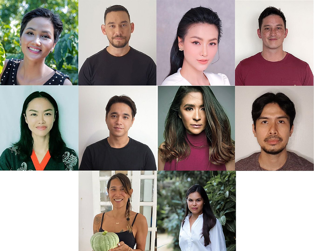 Joining the ACB's campaign are celebrities in the ASEAN— Antoinette Taus, Alex Rendell, Christian Bautista, Katrina Kendall, Mike Lewis, Kelly Tandiono, Paul Foster; Angie Mead-King; Phuong Khanh; and H'Hen Nie.