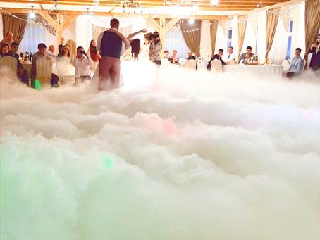 Генератор дыма для свадебного танца