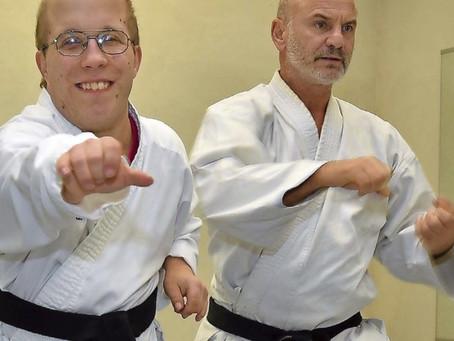 SZ Bericht - Handicap und Schwarzgurt