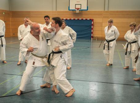 Karate Grundlagen Training in Bous