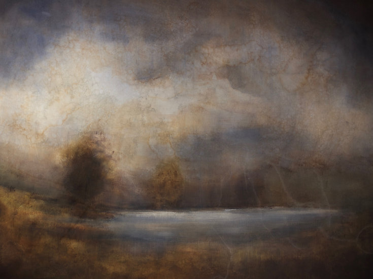 Waning Memories, 36x48 inches