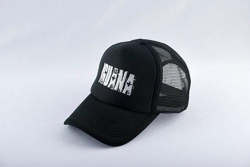 Gorra Negra Fondo Negro LA IGUANA