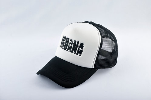 Gorra Negra Fondo Blanco LA IGUANA