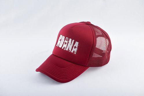 Gorra Roja Fondo Rojo