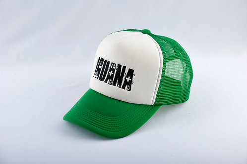 Gorra Verde Fondo Blanco