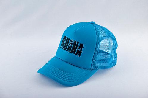Gorra Azul Fondo Azul