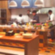 Cozinha aberta com Chef
