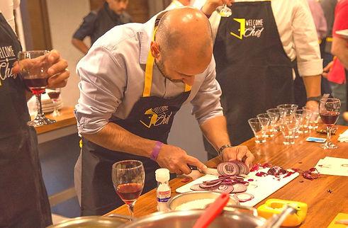 Atividade team building gastronômico