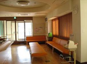 米田診療所待合室