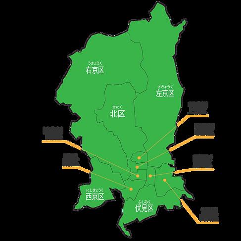京都市地図
