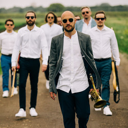 Saxophonist and Band