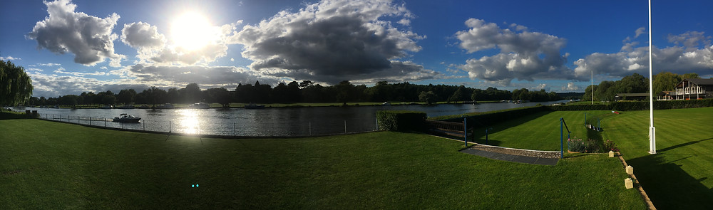 Remenham Boat Club view Henley on Thames