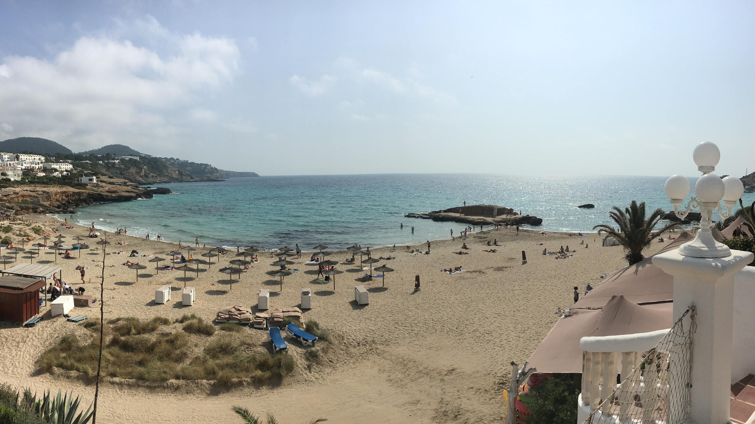 View from the stage in Ibiza