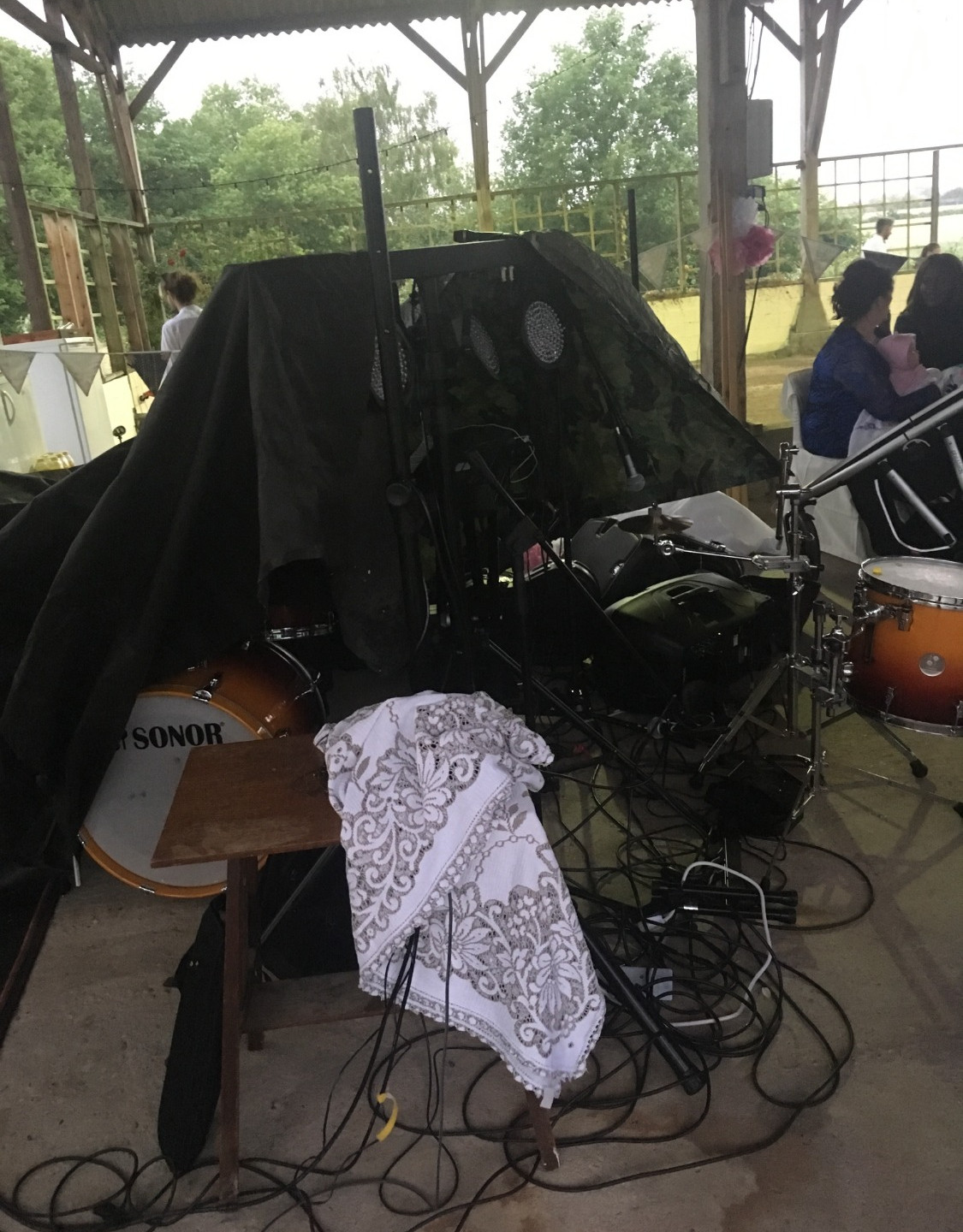 Equipment covered