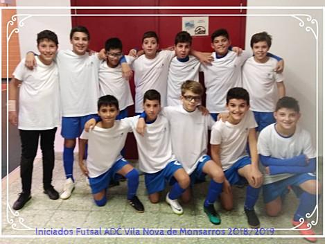 Garcia & Resende apoia os iniciados do futsal da ADCVNM