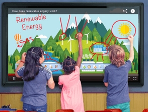 Sharp Smartboards for Briarcliff Middle School