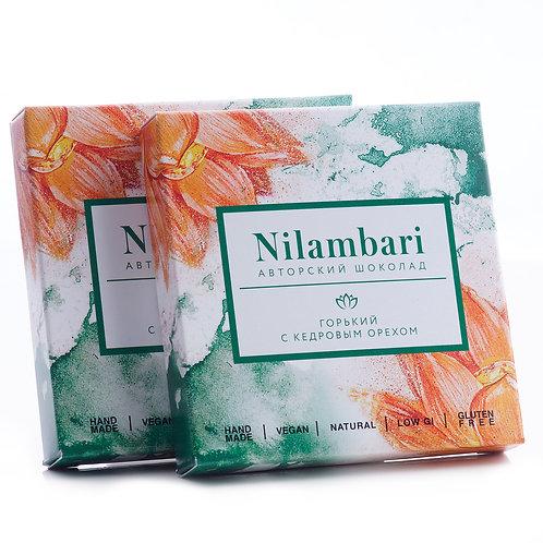 Горький шоколад с кедровым орехом Nilambari