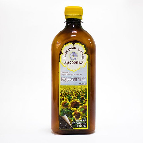 Подсолнечное масло (нерафинированное)