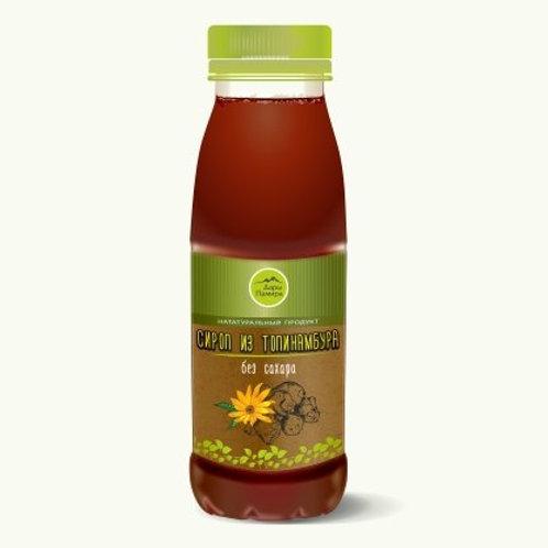 Натуральный сироп из топинамбура без сахара 330 гр.