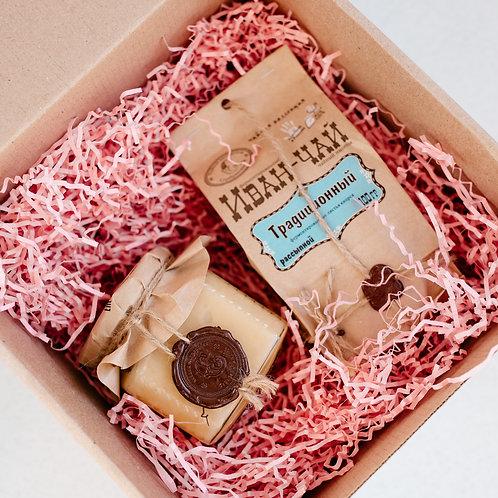 Подарочный набор: иван-чай и мёд