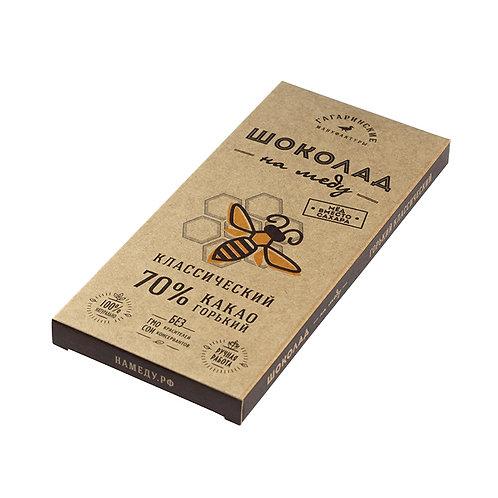 Шоколад на меду горький
