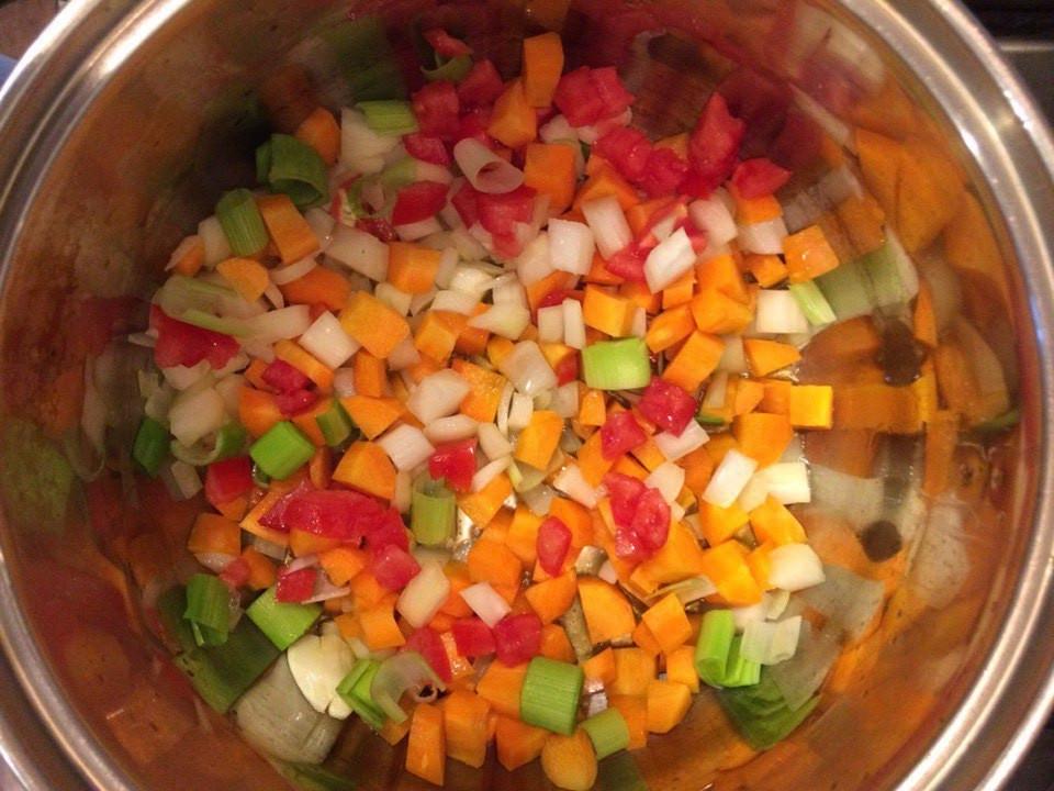 овощной бульон