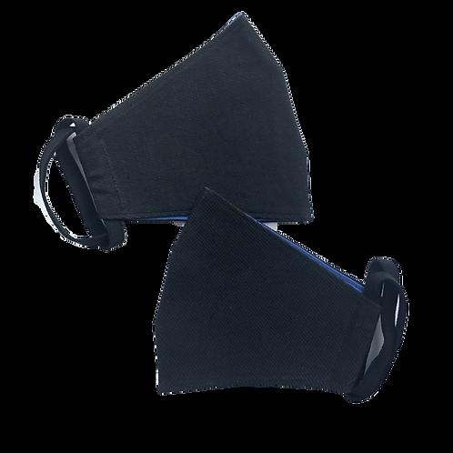 Многоразовая маска чёрная