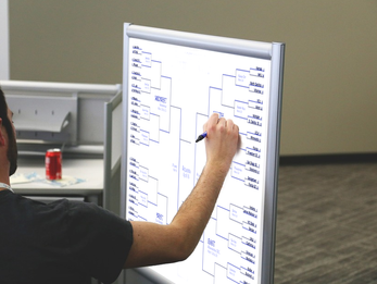 Area student under impression that people care about his bracket