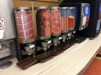 Sodexo to replace all cereal dispensers with encased meat dispensers