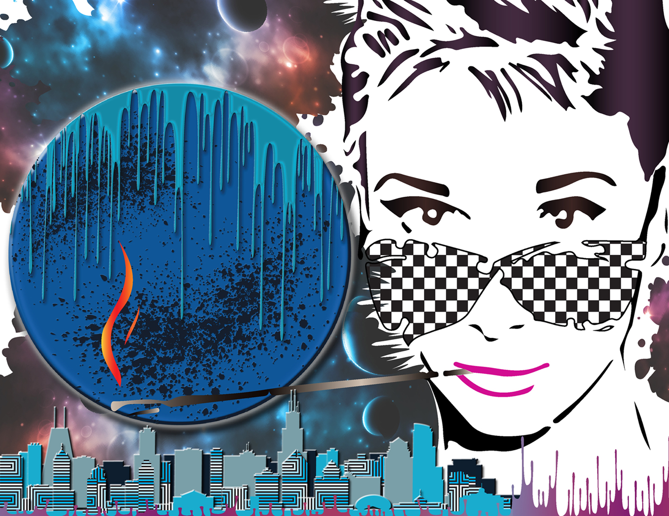 AUDREY HEPBURN GALAXY CITY