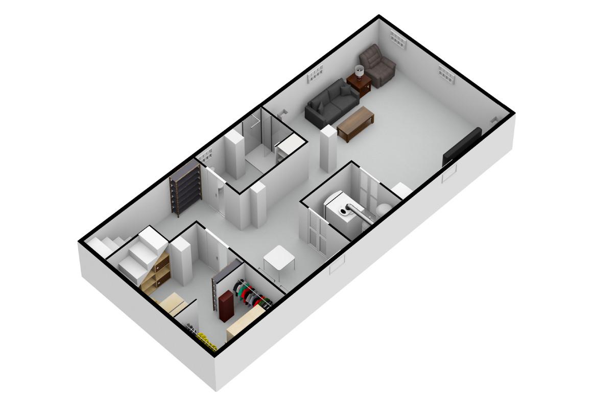 SoutheastView_Basement Remodel Chicago