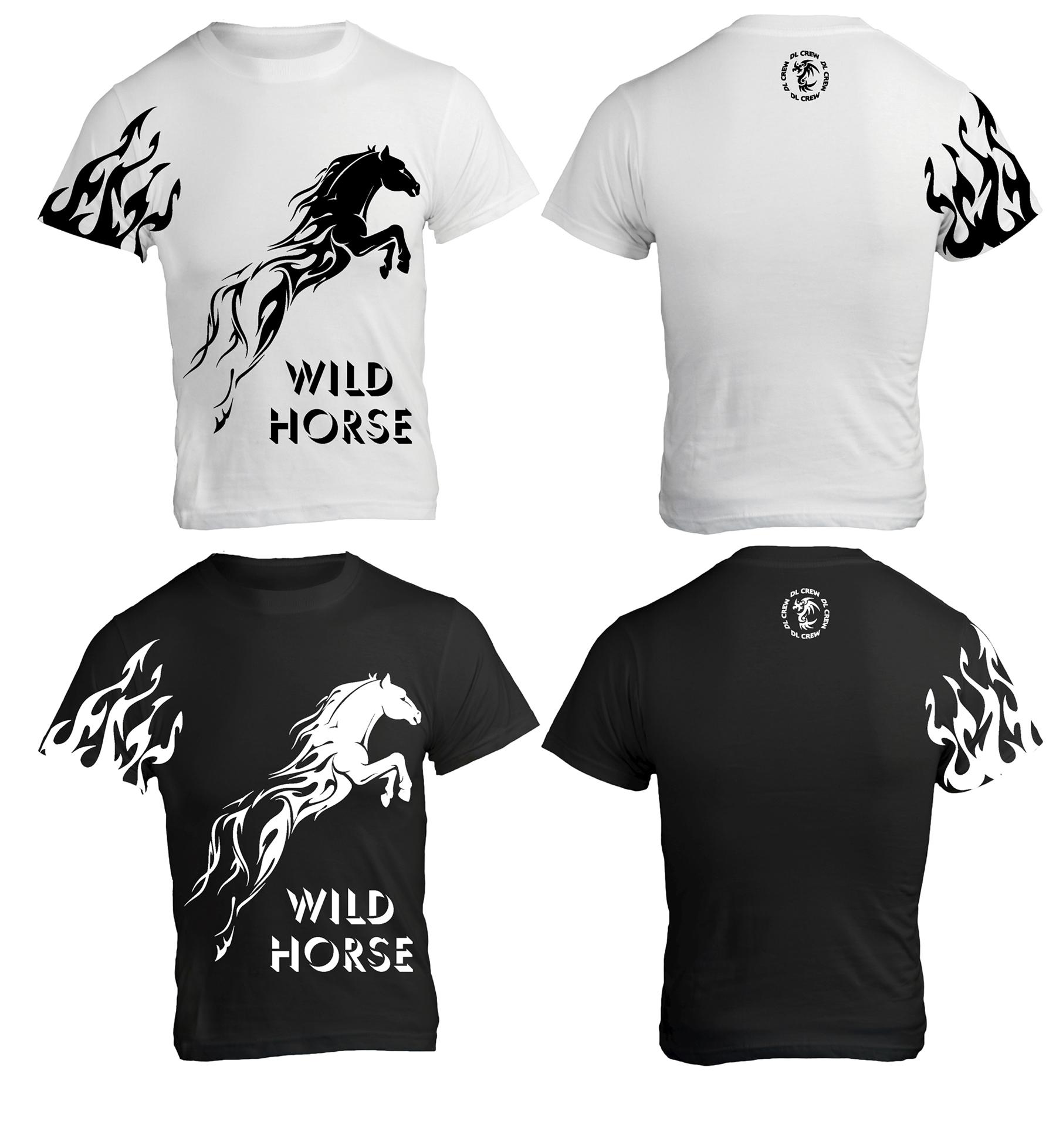 Flaming Horse Shirt