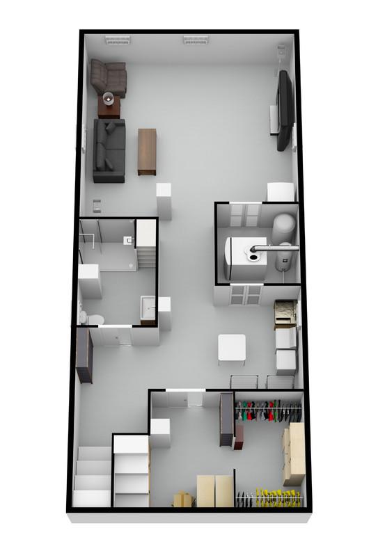 TiltedView_Basement Remodel Chicago