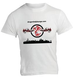 Dragon Lady Lounge White Shirt