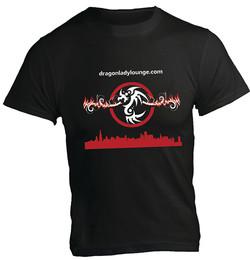 Dragon Lady Lounge Shirt Black