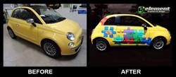 Fiat Puzzle Wrap