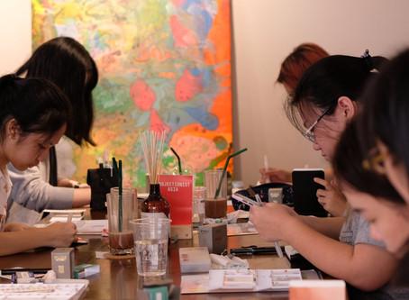 Watercolor Journal Workshop by 'Sherrae'