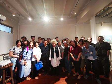 """'หนึ่งวันกับโตมร ศุขปรีชา' - """"A Day with Tomorn Sookprecha"""" at Slure Project"""